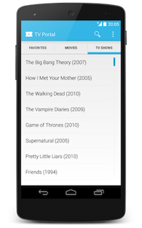 Watch free TV episodes on TV Portal