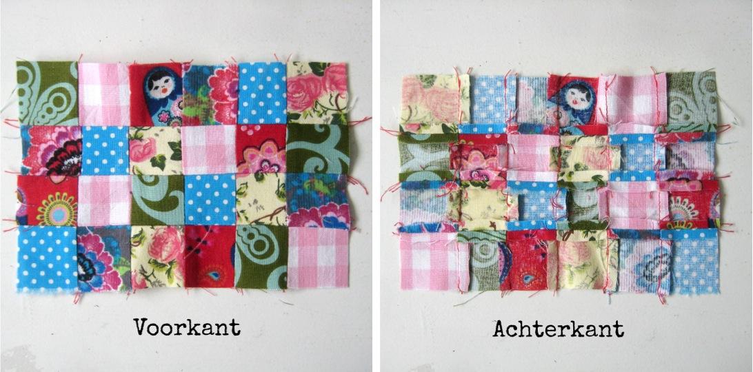 Sew natural blog tutorial patchwork naaldenmapje maken for Quilt maken met naaimachine