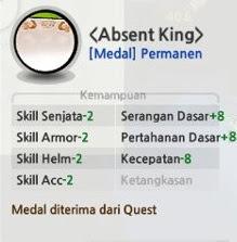 Medal Lost Saga 365 hari