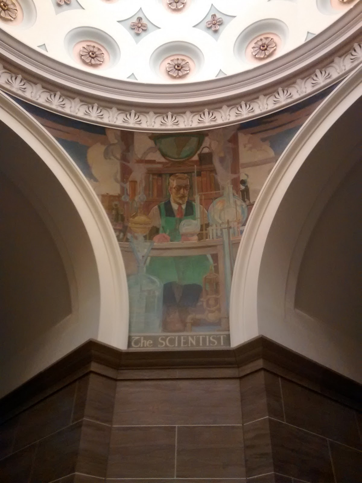 Scientist Mural at Jefferson City Capital Building