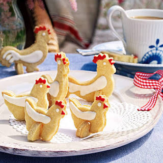 Easter Chicken Cookies