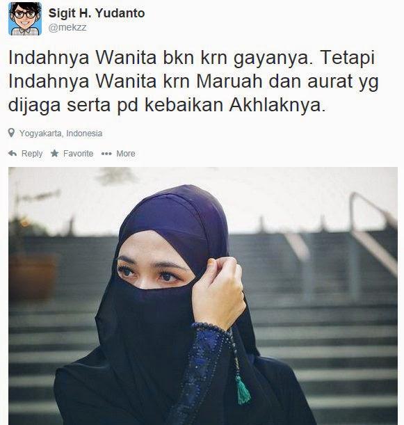 Wanita Terindah Idaman Setiap Muslim