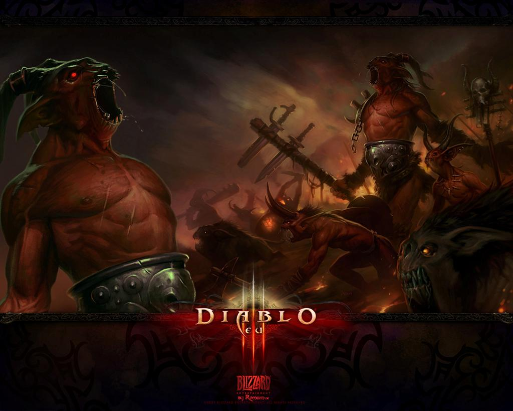 Diablo HD & Widescreen Wallpaper 0.958145929968818