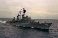 Farragut class destroyer 1958