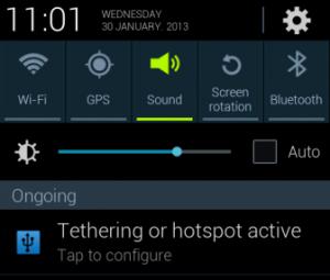 Cara Menggunakan Android Sebagai Modem
