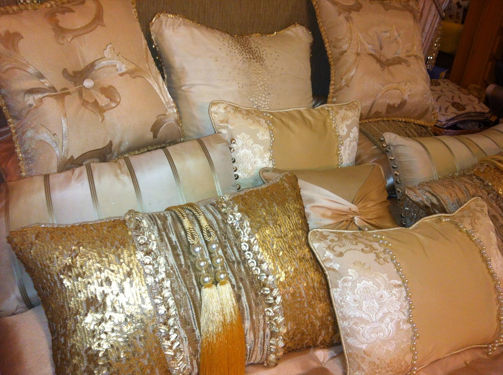 Beautiful made to measure cushions