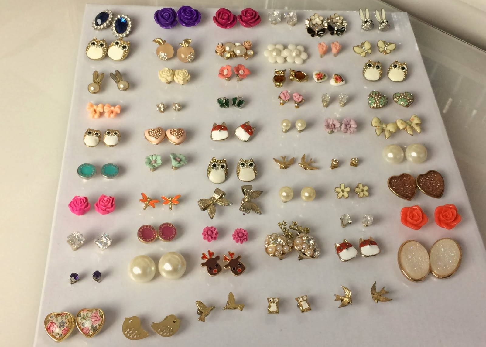 Flutter And Sparkle Diy Quick Easy Earring Storage Solution