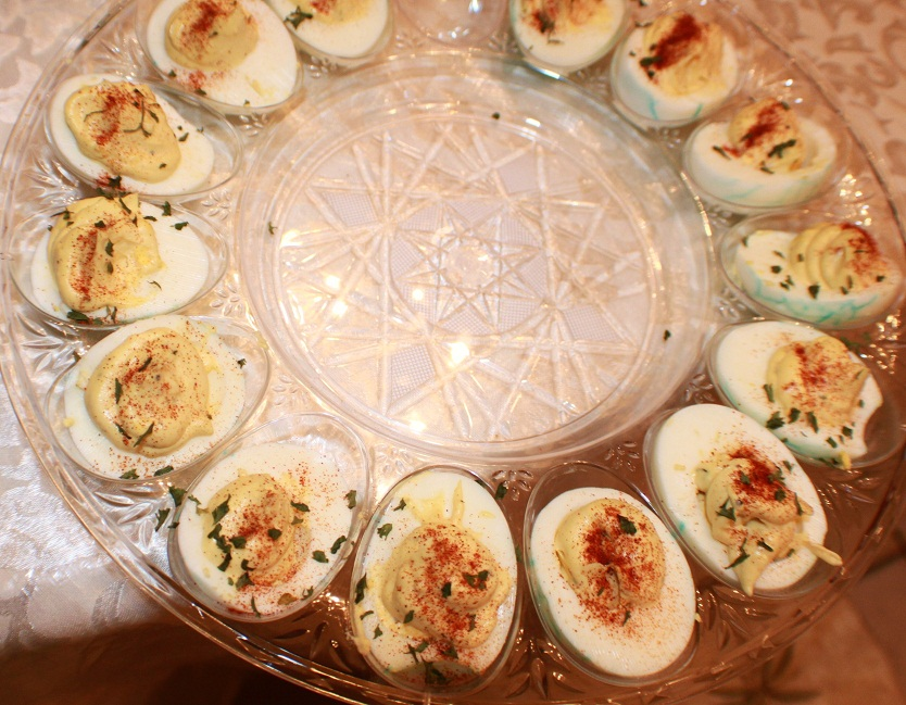 ... Cookin' Italian Style Cuisine: Leftover Easter Deviled Eggs Recipe