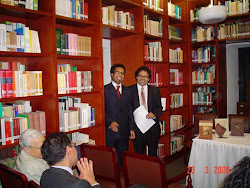 Lanzamiento de libros. Alfonso, Maria Luisa, Gonzalo