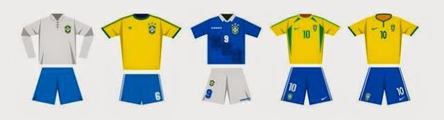 2014巴西球衣