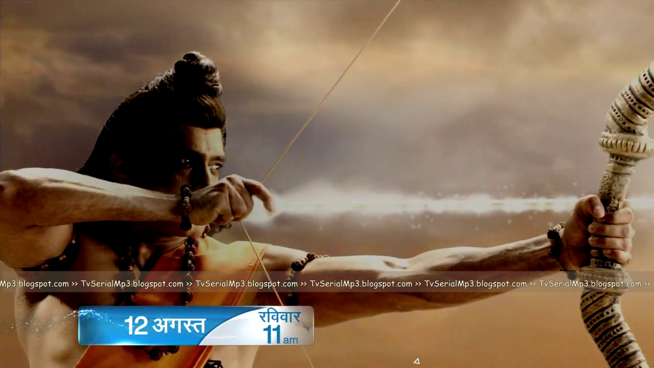 Shri ram in ramayan zee tv