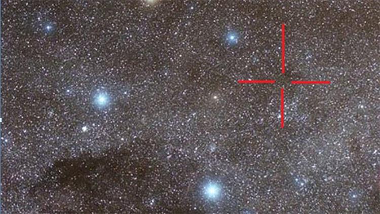 Descubren alteraciones en estrellas  de la Cruz del Sur