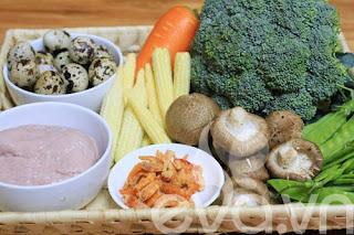 Giải ngán Tết với canh rau củ