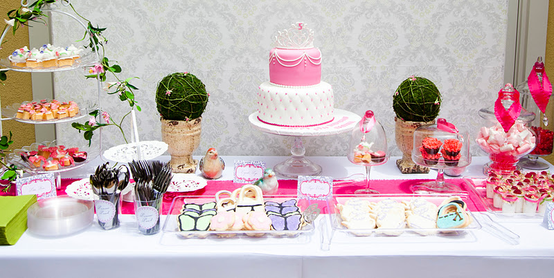 Kara 39 S Party Ideas Girls 5th Birthday Princess Tea Party Kara 39 S Par