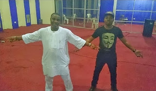 King Wasiu Ayinde and rapper Olamide