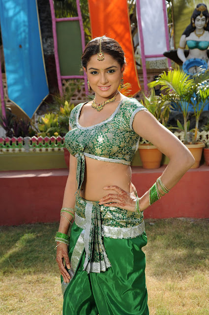 Tollywood Heroine Asmita Sood Traditional Half Saree Photos