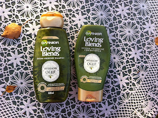 Garnier Loving Blends intens voedende shampoo en conditioner Mythische Olijf