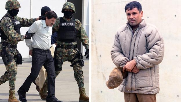 Joaquin 'El Chapo' Guzman foi recapturado, o presidente do México diz