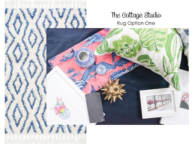 Cottage Studio Rug Ideas