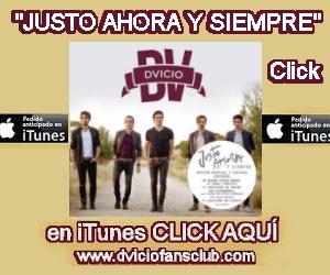 Consigue Justo Ahora y Siempre de DVICIO en iTunes