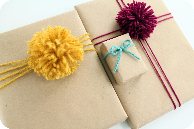 Сочетание цветов в упаковке подарков 77