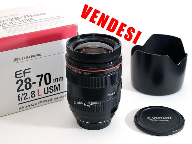 Fotografia di Canon EF 28-70mm f/2.8L USM in vendita