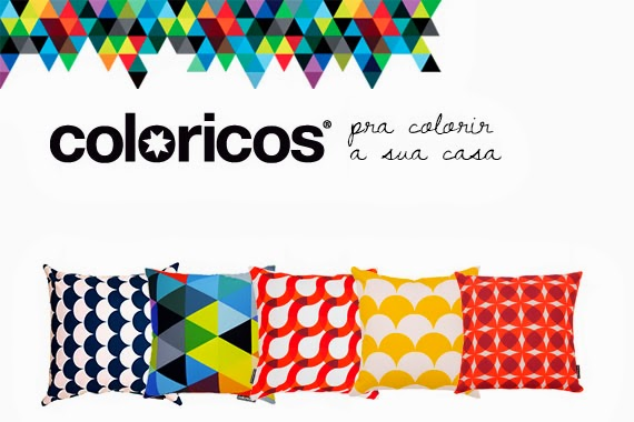 para colorir a casa - almofadas coloridas - estampas exclusivas - decoração colorida - coloricos
