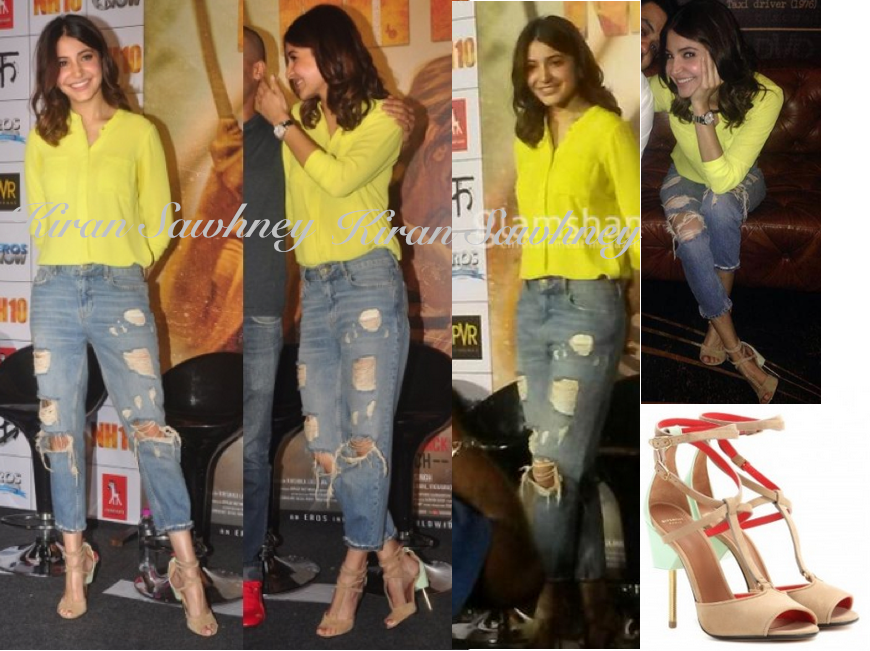 Anushka Sharma at NH10 Trailer Launch