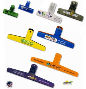 Blurb about Promotional Bag Clips