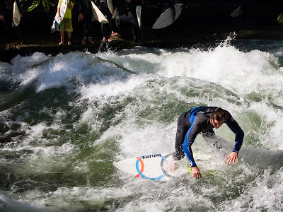 Surfeando en Munich