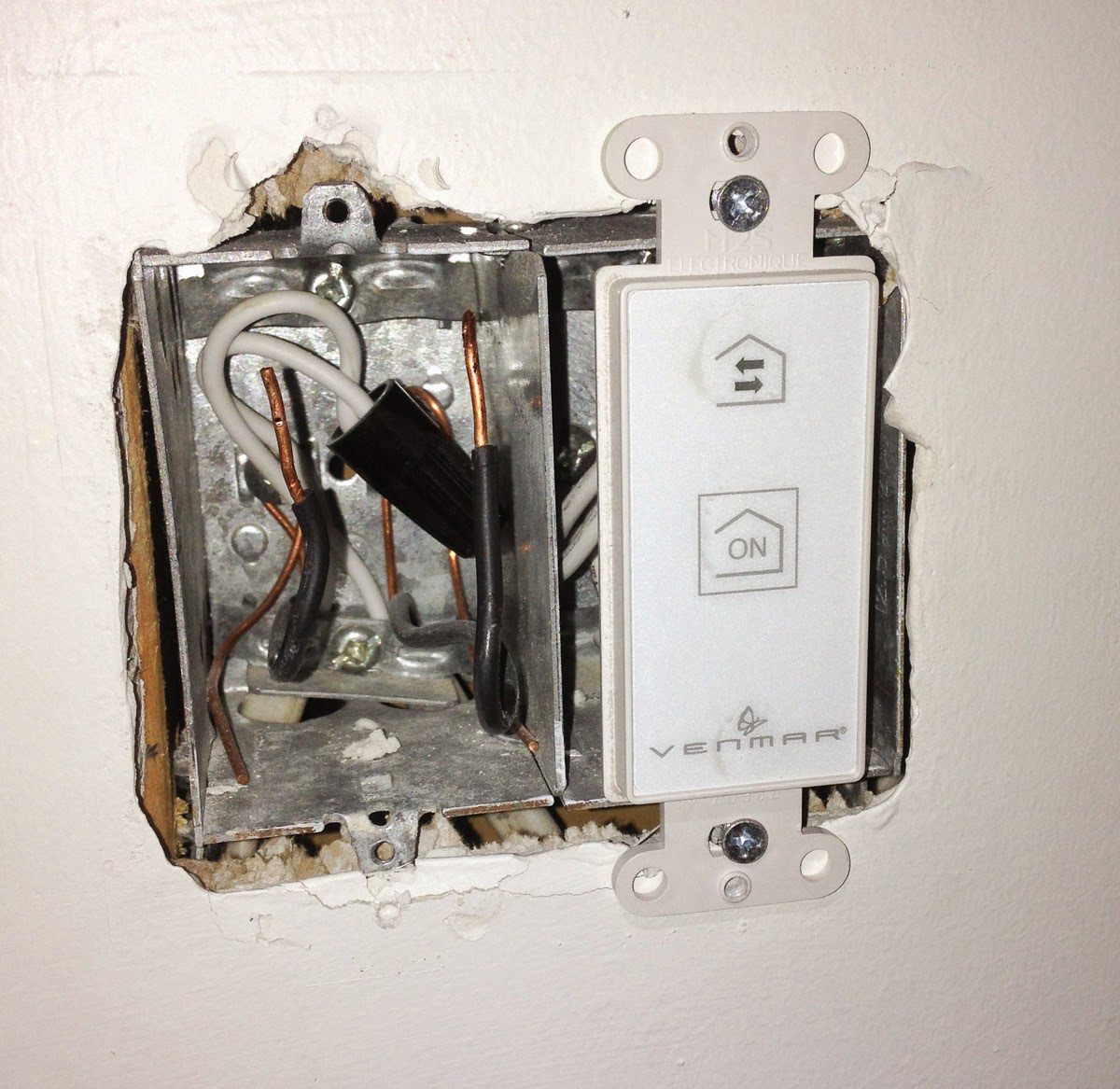 Low Voltage Switch Box : Glen s home automation building a new house or doing