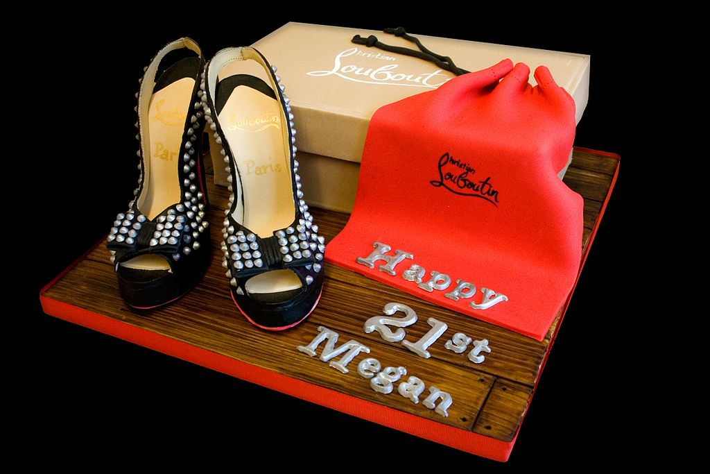 2. The Making Of the Christian Louboutin Shoes Cake by Sucre Coeur