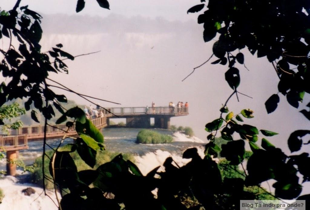 Lado brasileiro das Cataratas do Iguaçu
