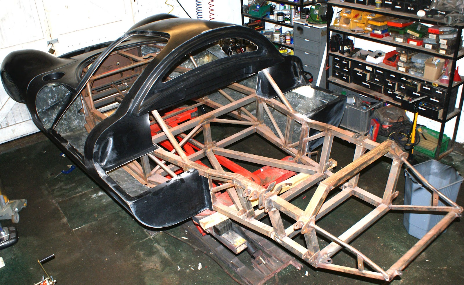 Cbs Ferrari P4 Build First Post Rover Wiring Diagram Every Mk4 We Manufactured Was Fitted With The Owners Choice Of Engine From Renault V6 To V8 Chevy Lamborghini V12 And