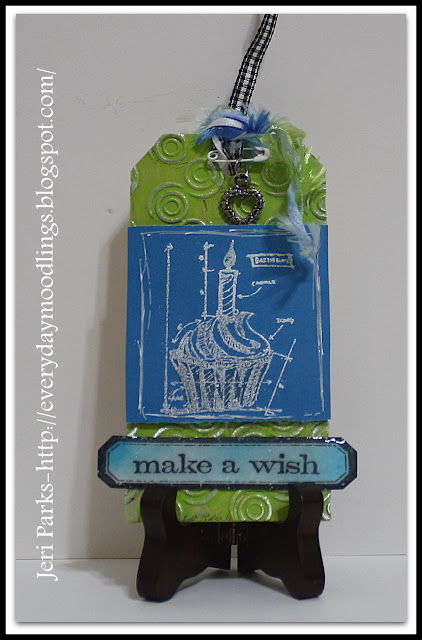 Everyday Moodlings-Tim Holtz January Tag