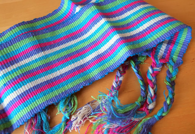 Hand woven belt, Todos Santos, Guatemala