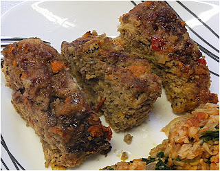 Indian Spiced Meatloaf from Bizzy Bakes