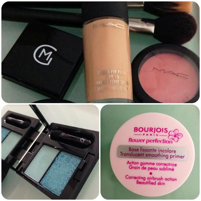 Maquillaje, make up, mac cosmetics, bourjois, maria galland