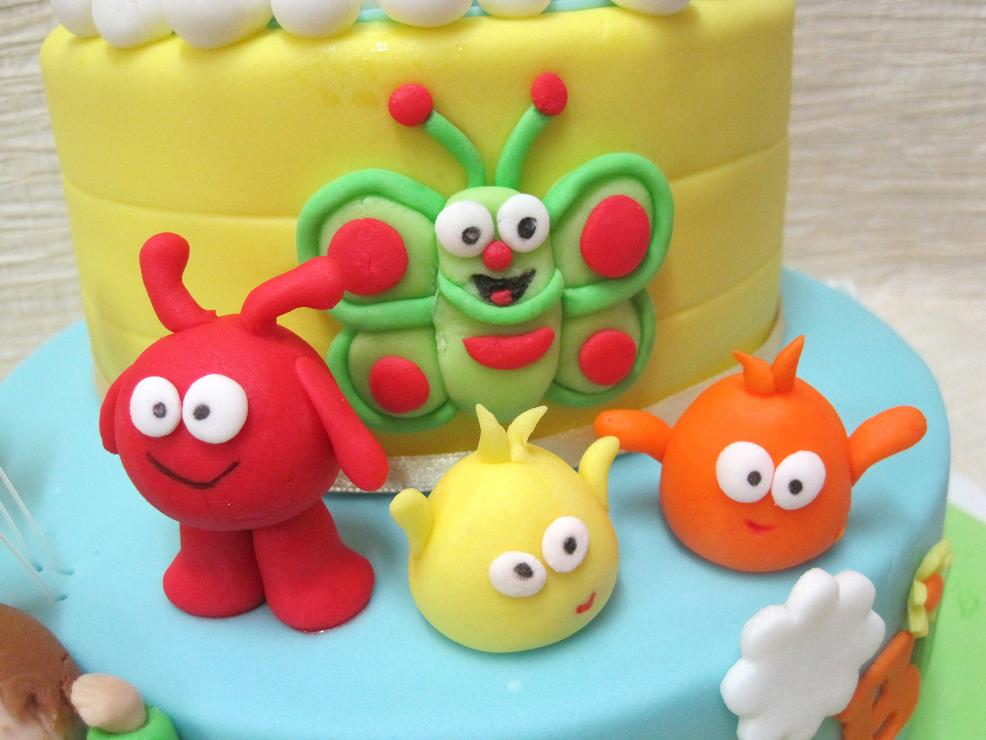 Cake Design Baby Tv : Mom And Daughter Cakes: Baby TV s Characters Birthday Cake