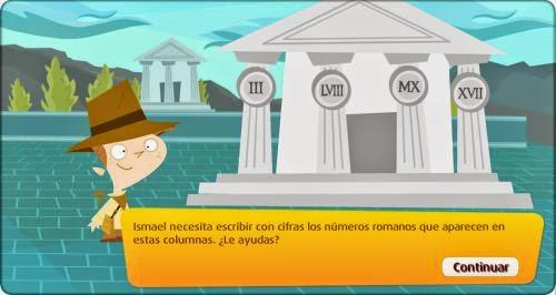 Blog de los nios Nmeros romanos para nios