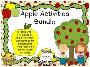 Apple Activities Theme Bundle