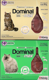 Pipetas Dominal Max para gatos