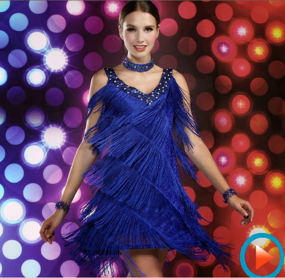 Perfecto Trajes De Baile Para Adolescentes Ilustración - Vestido de ...