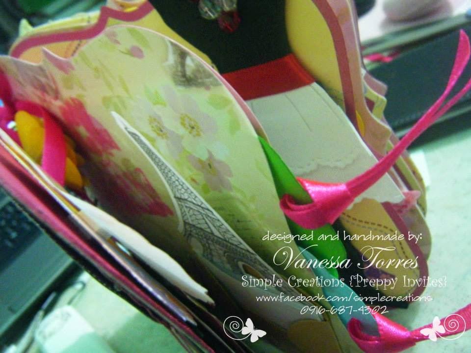 handmade message book