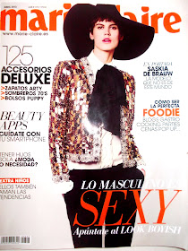 MI COLABORACIN CON LA REVISTA IMPRESA MARIECLAIRE ABRIL