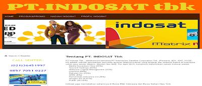 Indosat Palsu