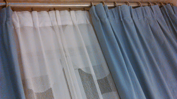 Como hacer cortinas de tela for Cortinas faciles