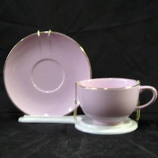 Buy a lavender Tea Cup and Saucer