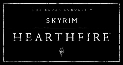 The Elder Scrolls V: Skyrim - Hearthfire Logo - We Know Gamers