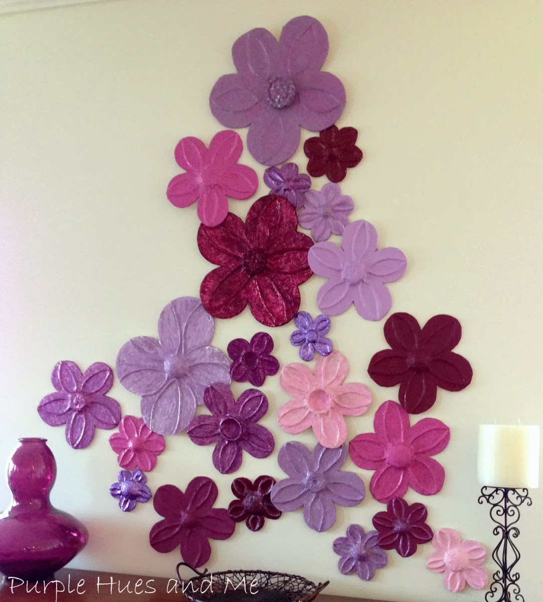 Wall Decor Flowers wall flower decor | modelismo-hld